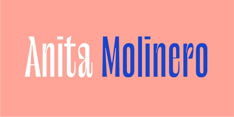 ANITA MOLINERO _ SIMEN SE LA COULE DOUCE